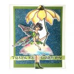 Thank You Card by Rita Barakat for Scrapbook Adhesives by 3L e-book with Favecrafts