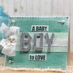 Baby Boy Card by Linda Lucas for Scrapbook Adhesives by 3L e-book with Favecrafts