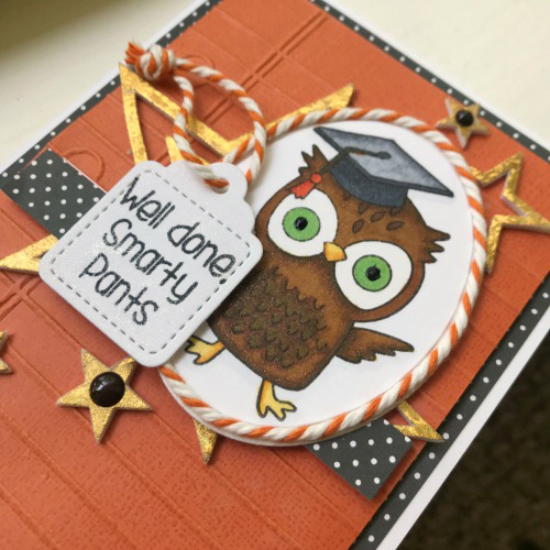 Well Done, Graduate Card! by Shellye McDaniel for Scrapbook Adhesives by 3L