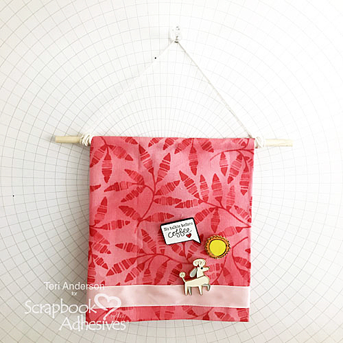 DIY Enamel Pin Collection Display by Teri Anderson for Scrapbook Adhesives by 3L