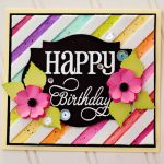 Happy Birthday Card by Michele Kovack for Scrapbook Adhesives by 3L e-book with Favecrafts