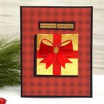 Christmas Card by Terri Burson for Scrapbook Adhesives by 3L e-book with Favecrafts