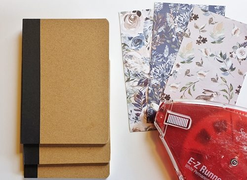 A Trio of Notebooks by Christine Emberson for Scrapbook Adhesives by 3L