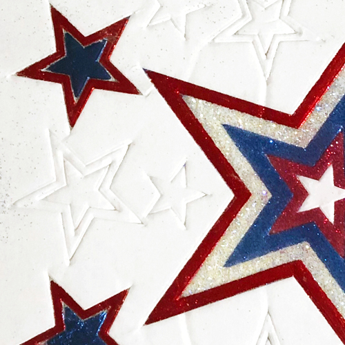 Sparkling 4th of July Card Tutorial by Lisa Adametz for Scrapbook Adhesives by 3L