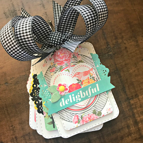 Delightful Tag Album and Berry Box Tutorial by Shellye McDaniel