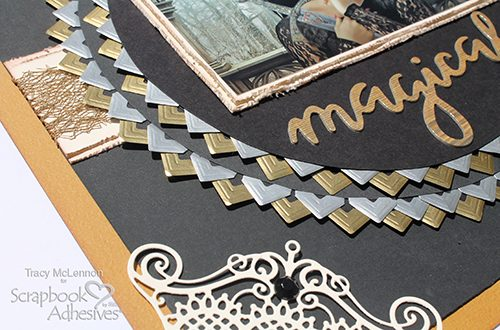 Magical Game of Thrones Inspired Scrapbook Tutorial by Tracy McLennon for Scrapbook Adhesives by 3L