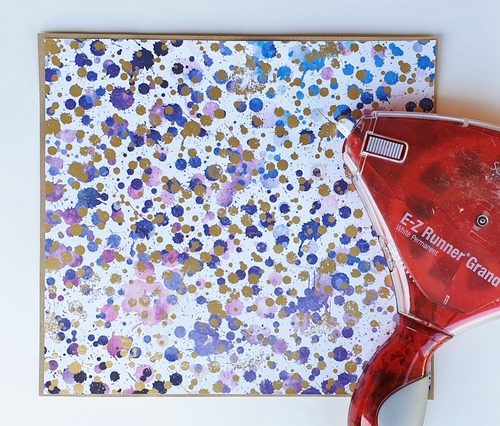 Customizing a Journal Tutorial by Christine Emberson for Scrapbook Adhesives by 3L Step 1