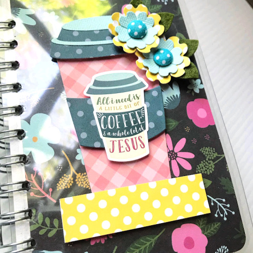 Have Faith Laminated Pocket Journal and Mini Album by Shellye McDaniel for Scrapbook Adhesives by 3L