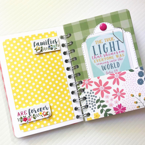 Faith Laminated Pocket Journal by Shellye McDaniel for Scrapbook Adhesives by 3L