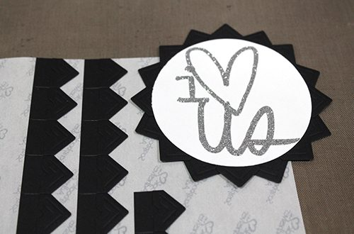 I Love Us Card by Tracy McLennon for Scrapbook Adhesives by 3L