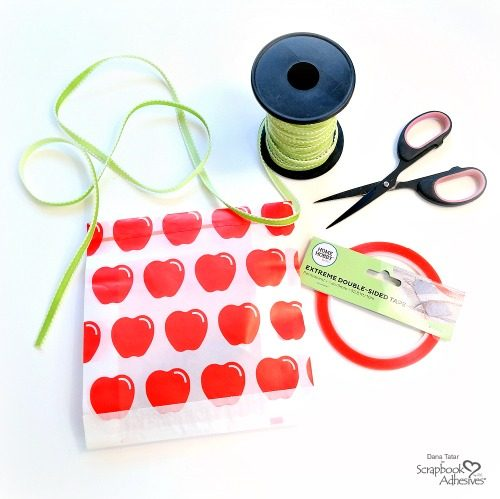 How to Adhere Ribbon with HomeHobby Extreme Double Sided Tape