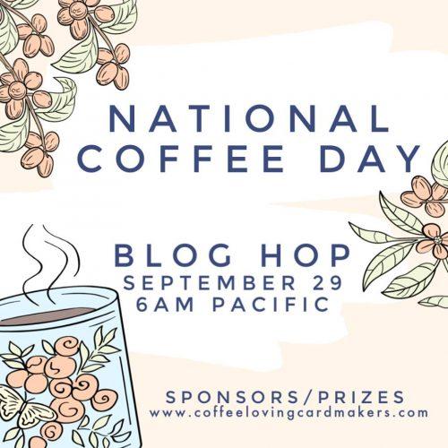 Coffee Lovers Blog Hop Sept 29-Oct 5, 2019 Logo