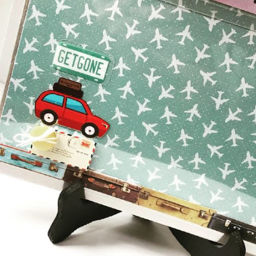 Explore Your World Travel Games by Shellye McDaniel for Scrapbook Adhesives by 3L