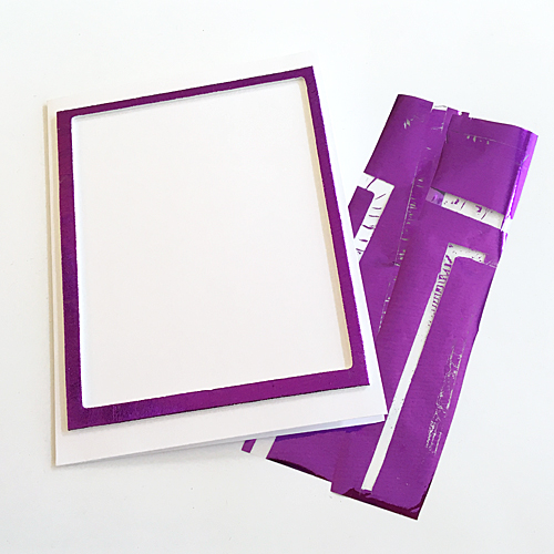 Foiled Frame Thanks for Everything Card by Margie Higuchi for Scrapbook Adhesives by 3L