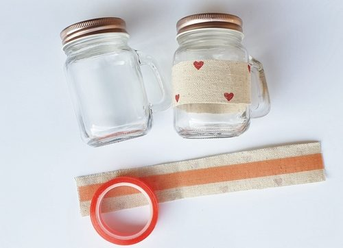 Mini Mason Jar Party Favor Tutorial by Christine Emberson for Scrapbook Adhesives by 3L