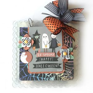 Be Spooky Mini Acrylic Album by Shellye McDaniel for Scrapbook Adhesives by 3L