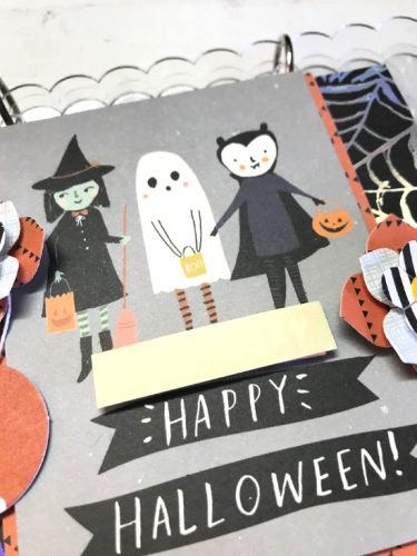 Be Spooky Acrylic Mini Album by Shellye McDaniel for Scrapbook Adhesives by 3L