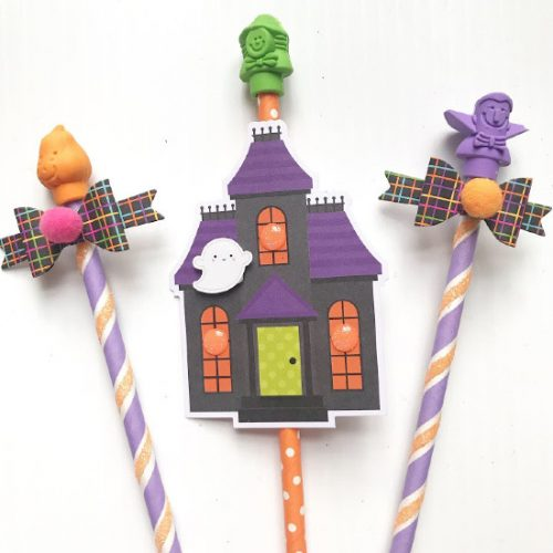 Wands for Halloween Popcorn Box Pocket Mail Tutorial by Shellye McDaniel for Scrapbook Adhesives by 3L