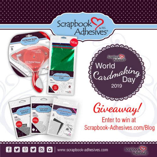 World Card Making Day 2019 Giveaway image