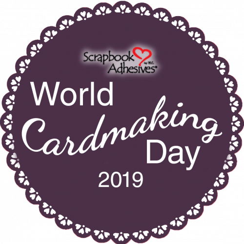 World Cardmaking Day Logo for Scrapbook Adhesives by 3L