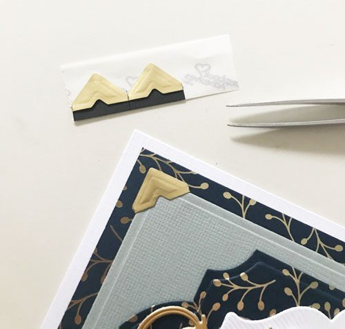 Create a Multi-Layered Thank You Card by Yvonne van de Grijp for Scrapbook Adhesives by 3L