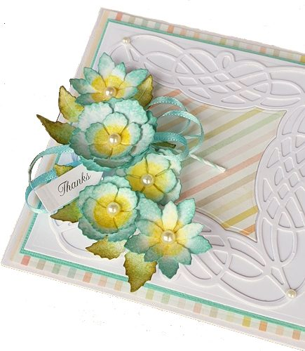 Thanks Card by Christine Emberson for Scrapbook Adhesives by 3L