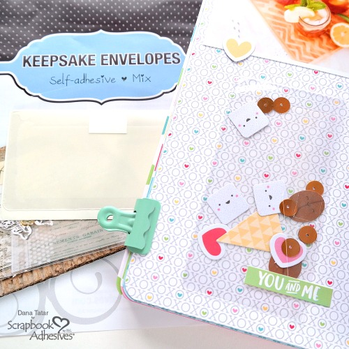 How to Make Shaker Pockets with Keepsake Envelopes for Your Planner and Traveler's Notebook