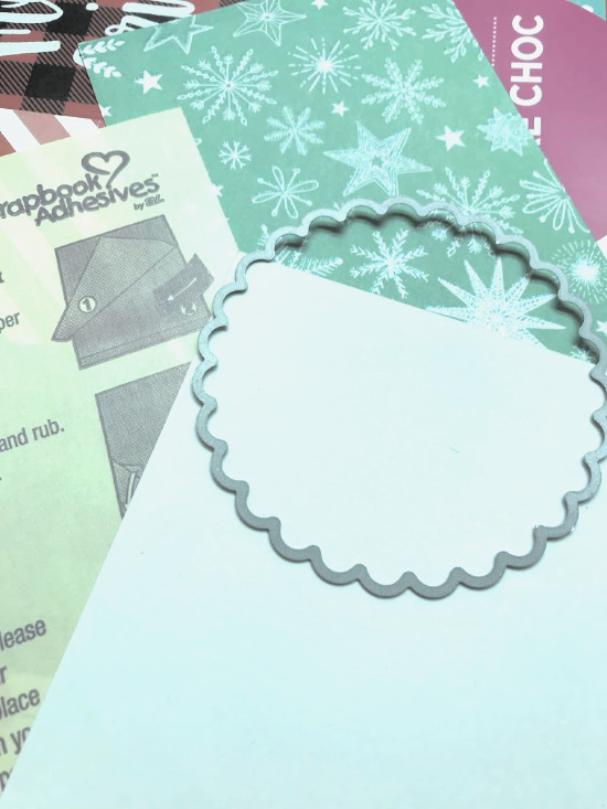 Snow Globe Shaker Ornament by Shellye McDaniel for Scrapbook Adhesives by 3L Step 5