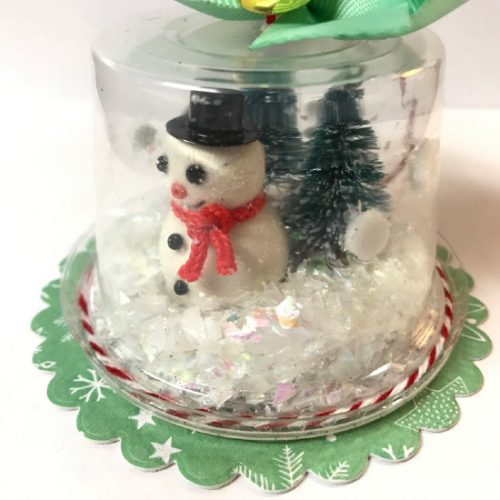 Close Up Snow Globe Shaker Ornament by Shellye McDaniel for Scrapbook Adhesives by 3L