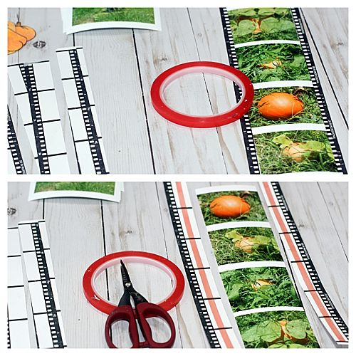 Step 3 Pumpkin Patch Pocket Page by Connie Mercer for Scrapbook Adhesives by 3L