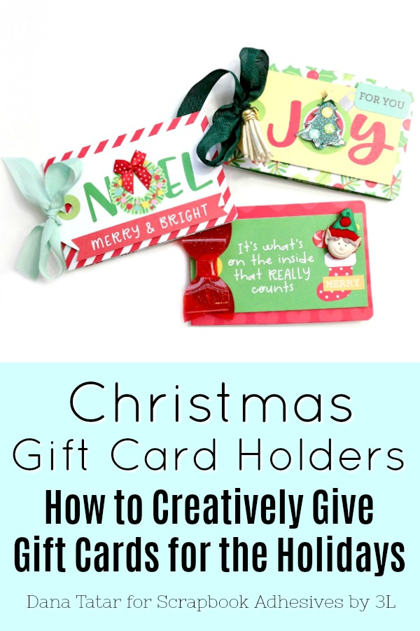 DIY Christmas Gift Card Holders Created with the Doodlebug Designs Christmas Magic Collectoin