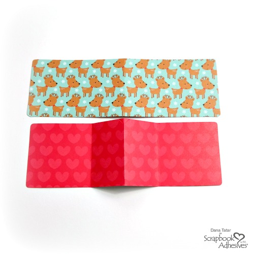 How to Cut and Fold Gift Card Holders From Patterned Paper