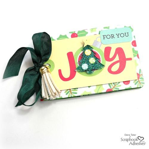Joy Ornament Christmas Gift Card Holder