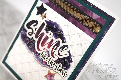 Texture Background with Creative Photo Corners by Tracy McLennon for Scrapbook Adhesives by 3L