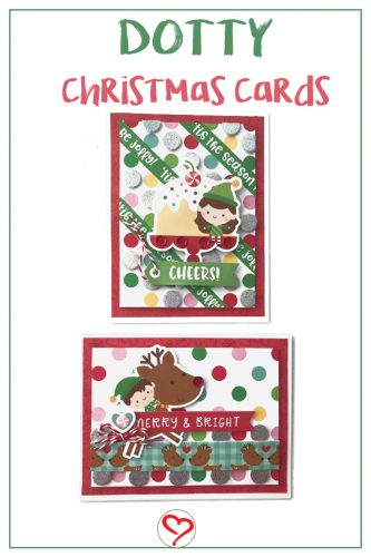 Dotty Doodlebug Christmas Cards by Shellye McDaniel for Scrapbook Adhesives by 3L