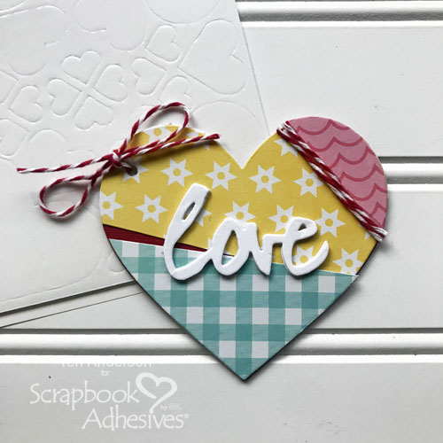 Scrap Paper Love Notes by Teri Anderson for Scrapbook Adhesives by 3L