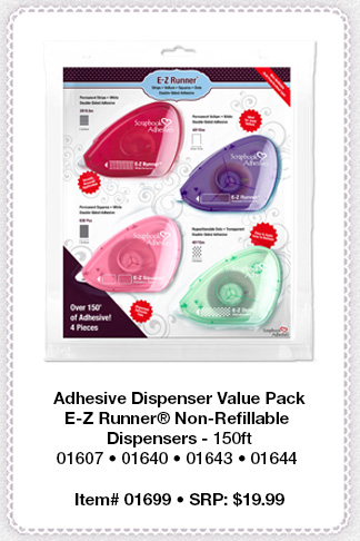 Adhesive Dispenser Value Pack by Scrapbook Adhesives by 3L