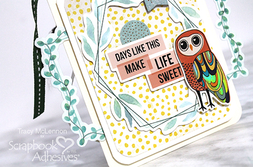 Make Life Sweet Dimensional Tag by Tracy McLennon for Scrapbook Adhesives by 3L