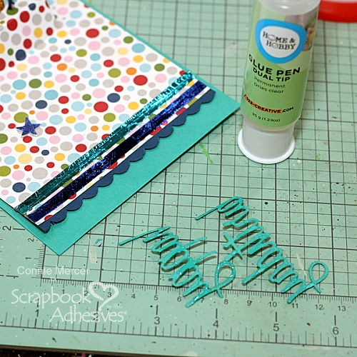 15th Birthday Celebration Ensemble by Connie Mercer for Scrapbook Adhesives by 3L
