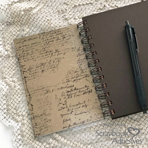 DIY Travel Journal by Judy Hayes for Scrapbook Adhesives by 3L
