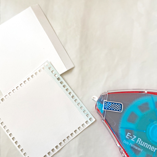 All Occasion Lace Square Card Tutorial by Margie Higuchi for Scrapbook Adhesives by 3L