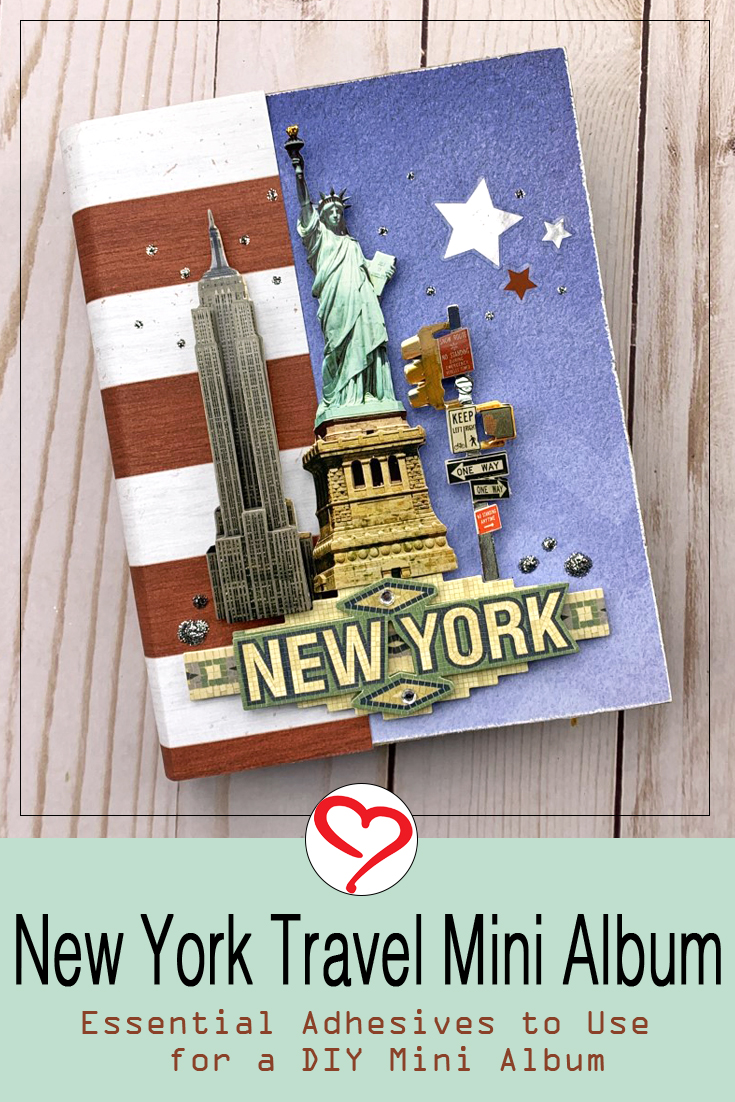 Mini Album Adhesive Essentials by Christine Meyer for Scrapbook Adhesives by 3L Pinterest