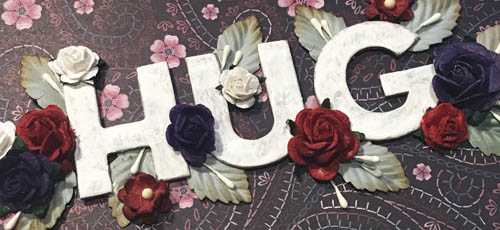 Floral Hug Card Tutorial by Yvonne van de Grijp for Scrapbook Adhesives by 3L