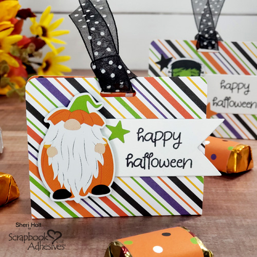 Halloween Nugget Treat Holders by Sheri Holt for Scrapbook Adhesives by 3L