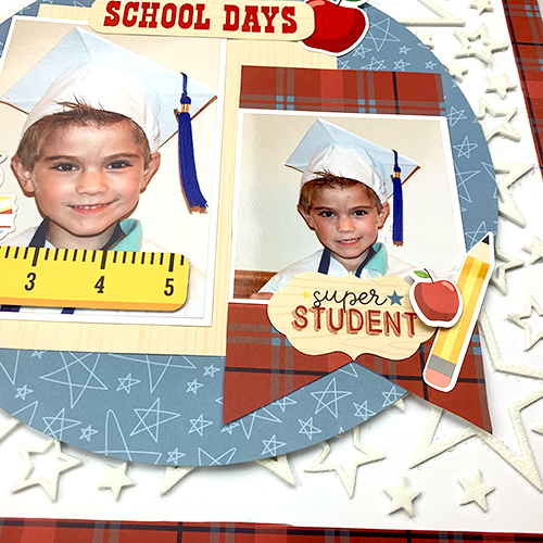 School Days Layout by Christine Meyer for Scrapbook Adhesives by 3L