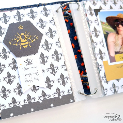 E-Z Squares Accent Album Binding by Dana Tatar for Scrapbook Adhesives by 3L