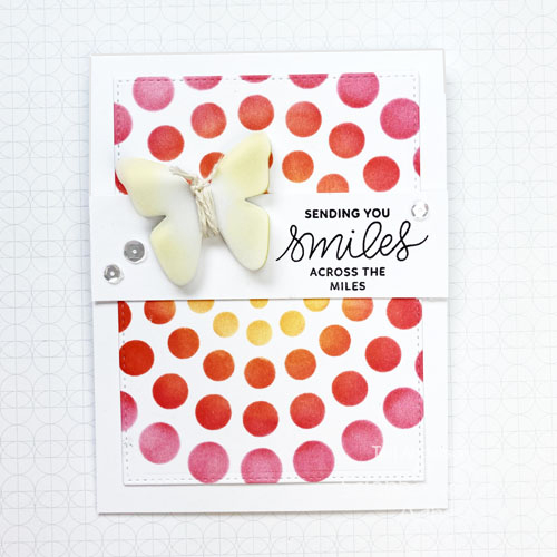 Layered Butterflies Friendship Cards by Teri Anderson for Scrapbook Adhesives by 3L