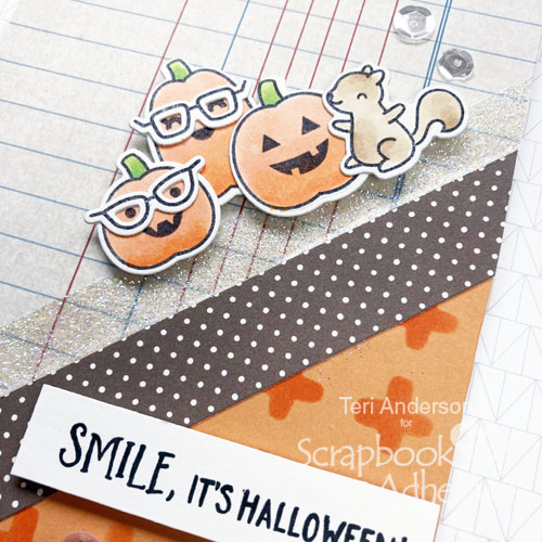 Halloween Cards Made Simple by Teri Anderson for Scrapbook Adhesives by 3L