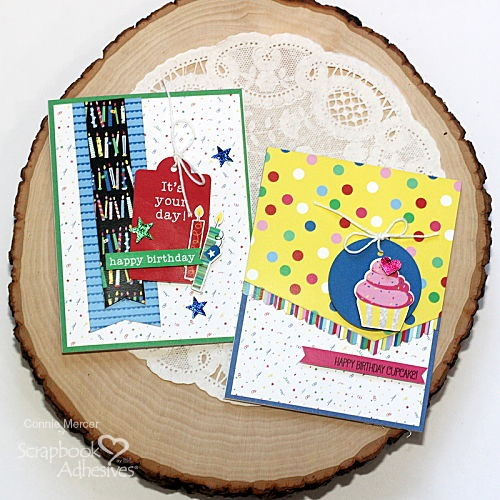A Confetti Kind of Birthday by Connie Mercer for Scrapbook Adhesives by 3L