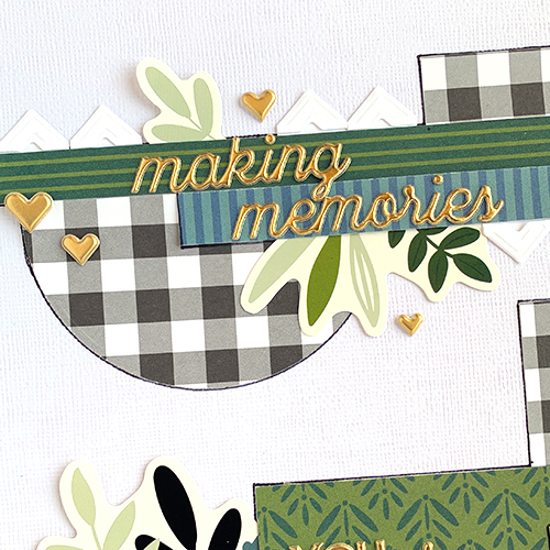 Capturing Little Moments Scrapbook Layout by Christine Meyer for Scrapbook Adhesives by 3L
